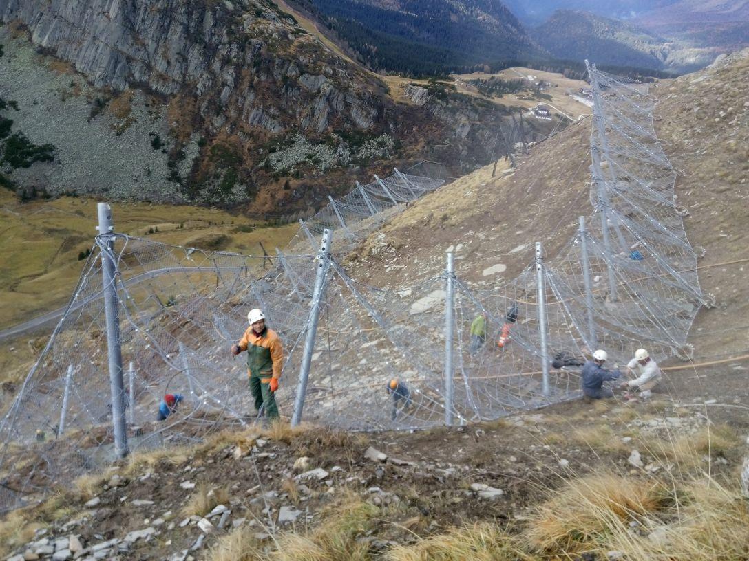 Avalanche Barriers, Passo Rollè