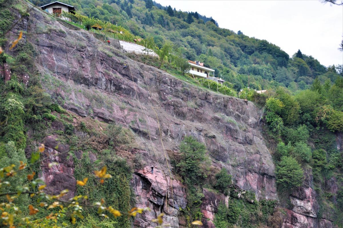 Rockfall Barriers, Valdaone
